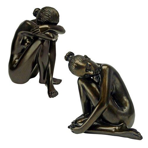 Design Toscano Visions of Leila Nude Nude Female Study Head Hidden Statue