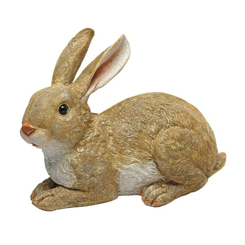 Bashful, the Bunny, Lying Down Garden Rabbit Statue