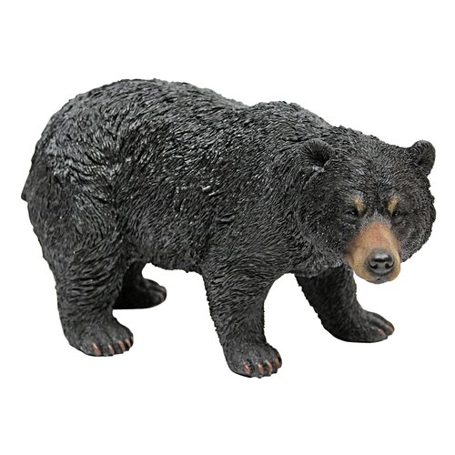Black Bear Walking Statue