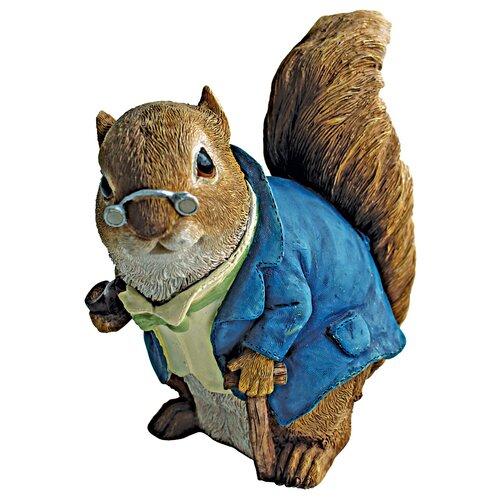 Grandfather Squirrel Statue