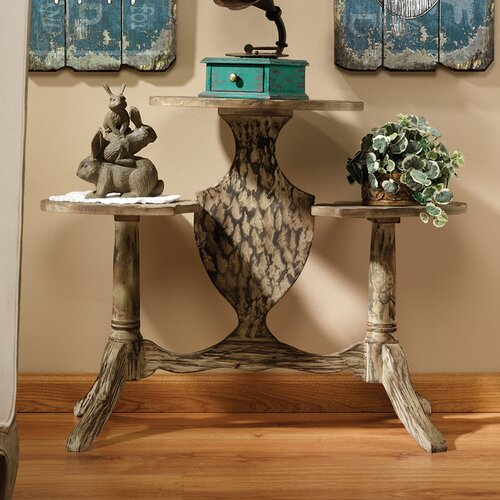 Marcelle Tiered Console Table