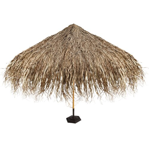 Design Toscano Tropical Thatch Umbrella Cover