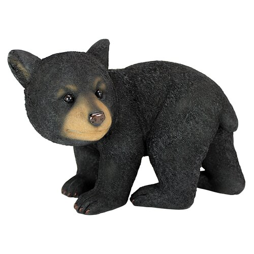 Roly-Poly Bear Cub Statue Walking Bear