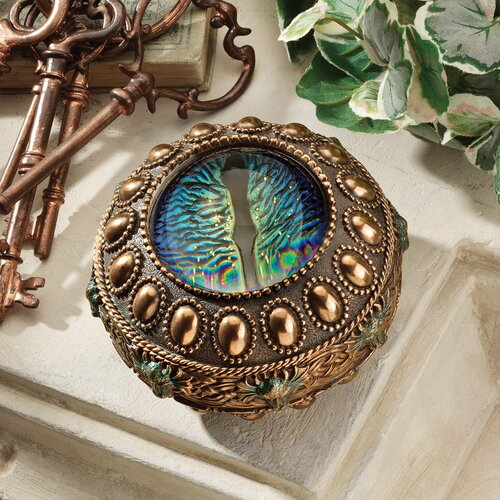 Design Toscano The Eye of the Dragon Mystical Safe Box