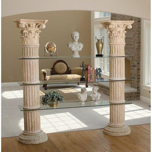 Design Toscano Columns of Corinth Shelf
