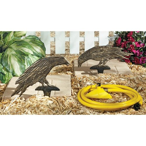 Mystic Ravens Ground Garden Stake (Set of 2)