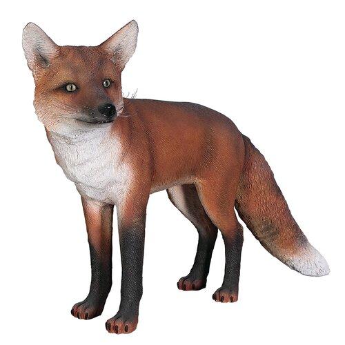 European Fox Statue