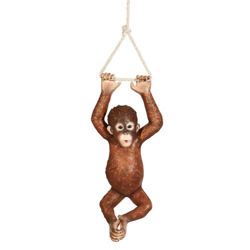 Pongo, the Hanging Baby Orangutan Statue