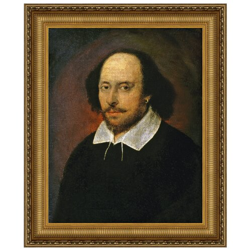 Design Toscano William Shakespeare Replica Framed Painting Print