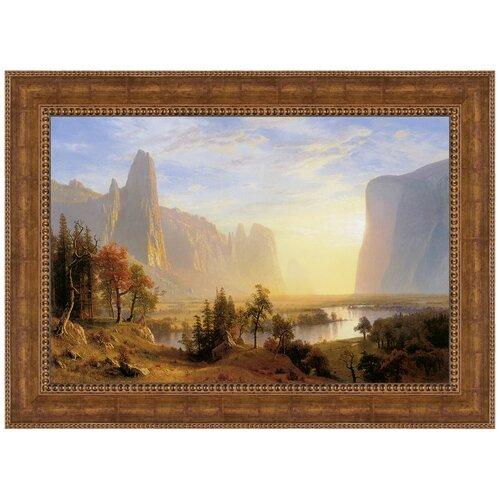 Yosemite Valley, 1868 by Albert Bierstadt Framed Painting Print