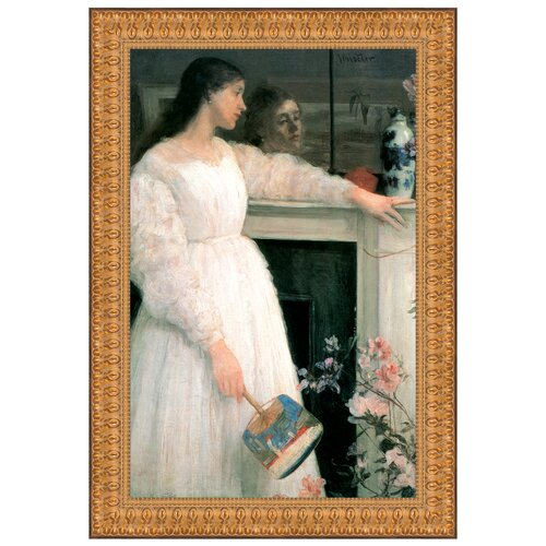 Symphony in White No. 2, The White Girl, 1864 by James Abbott McNeill Whistler Framed ...