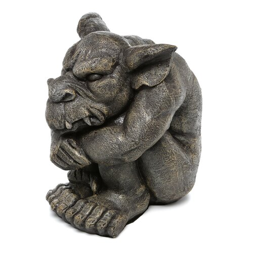 Design Toscano Detest The Rest Gargoyle Statue