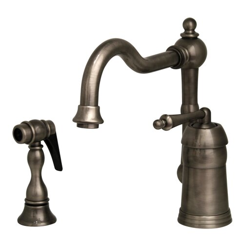 Commercial Kitchen Faucets With Sprayer : ... Kitchen Faucet with Spring Spout and Two Function Commercial Sprayer