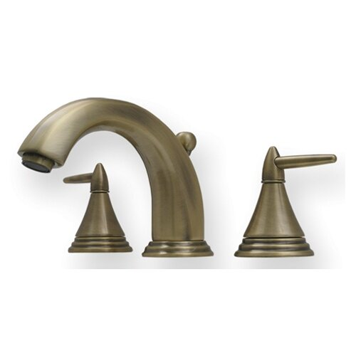Whitehaus Collection Blairhaus Widespread Jacksons Bathroom Faucet with Double Handles