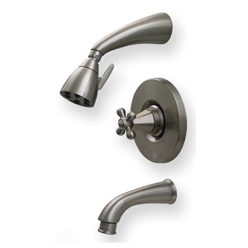 Whitehaus Collection Blairhaus Truman Pressure Balance Tub and Shower Faucet
