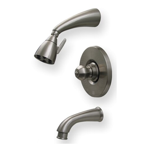 Whitehaus Collection Blairhaus Washington Pressure Balance Tub and Shower Faucet