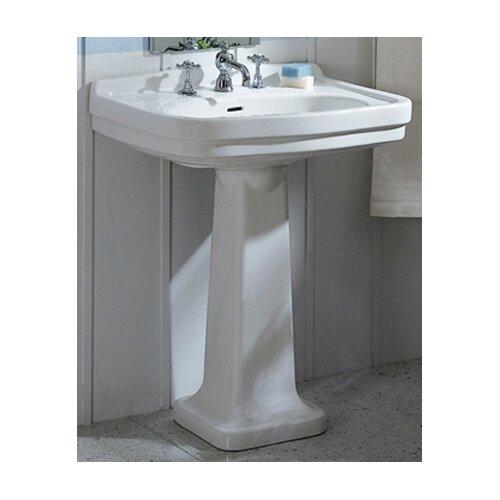 Large Pedestal Sink : ... Collection China Large Pedestal Bathroom Sink with Blacksplash