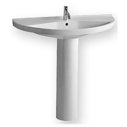 China Semi-circular Basin and Bathroom Sink