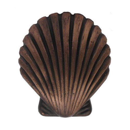 Whitehaus Collection Cabinetry Hardware Seashell Knob