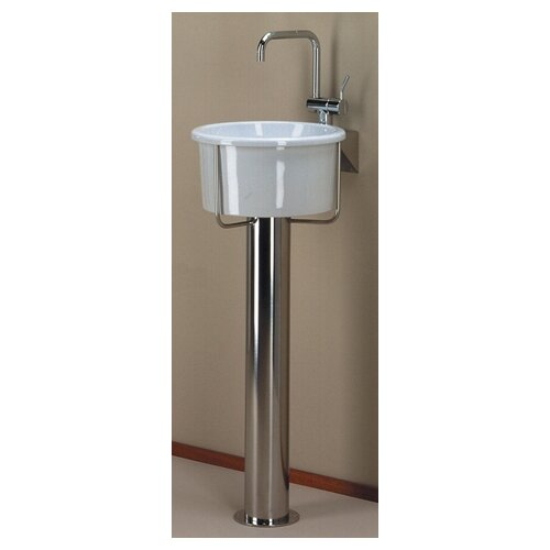 New Generation Pedestal Bathroom Sink