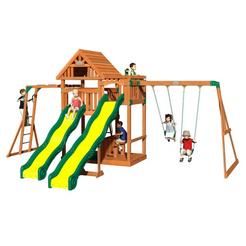 Crestwood All Cedar Swing Set