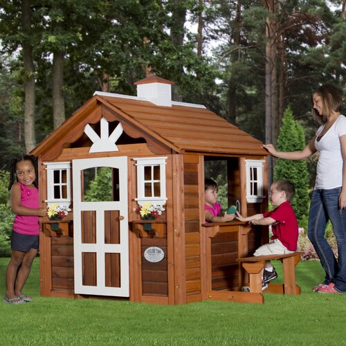 Backyard Discovery Summer Cottage Playhouse