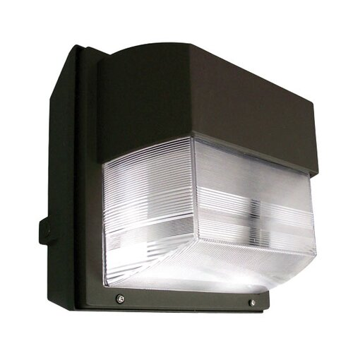 Deco Lighting 70W HPS 120 Volts Intermediate Polycarbonate Wall Light in Bronze
