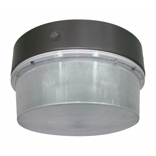 Deco Lighting 150W Round Luminaire Flush Mount in Bronze
