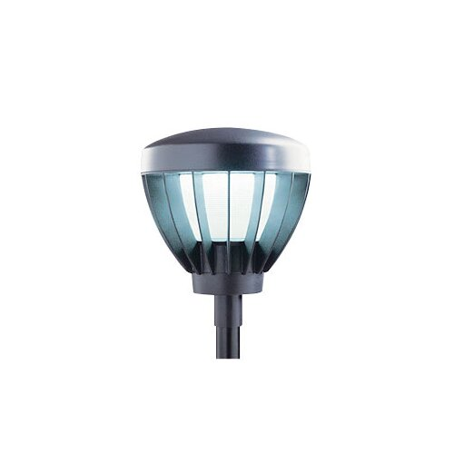 Deco Lighting Vandalproof 150W Outdoor Post Mount Head in Dark Bronze