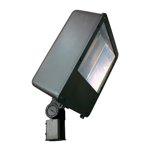 Deco Lighting 80W Induction Post Mount Lamp in Bronze