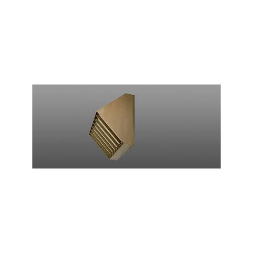 Deco Lighting 70W Louvered Wall Light in Bronze