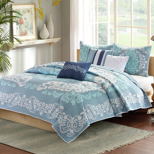 Cameo 6 Piece Coverlet Set