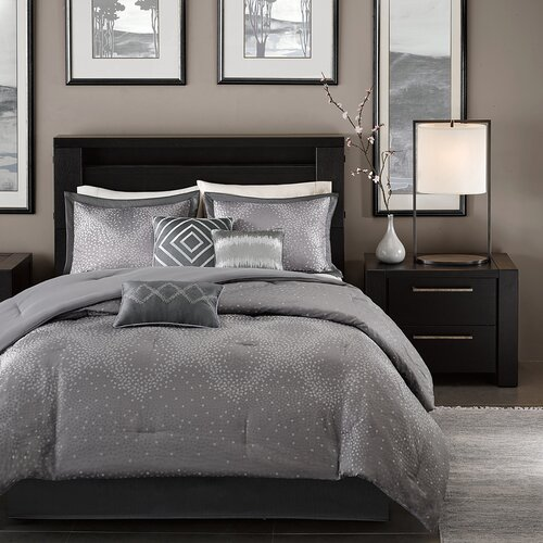 Fancy Bedroom Chairs Modern Zen Bedroom Rustic Chic Bedroom Decor Exclusive Bedroom Sets: Madison Park Quinn 7 Piece Comforter Set & Reviews
