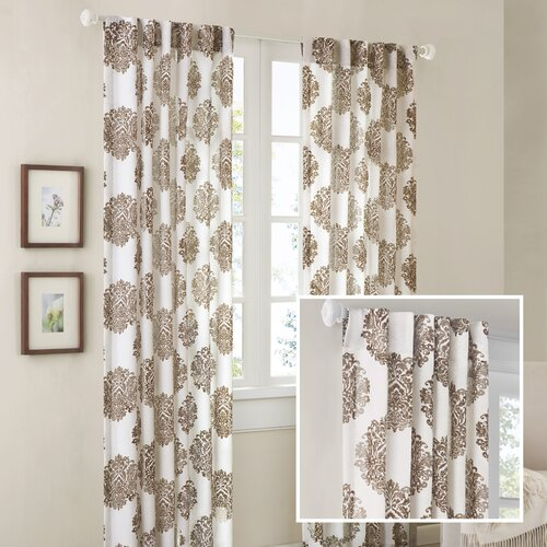Madison Park Addison Anthro Burn Out Curtain Single Panel