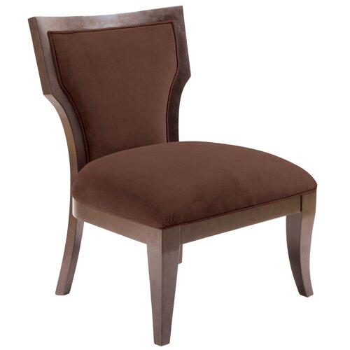 Madison Park Montego Fabric Slipper Chair