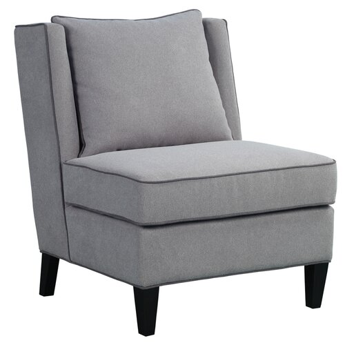 Madison Park Madison Dexter Fabric Slipper Chair