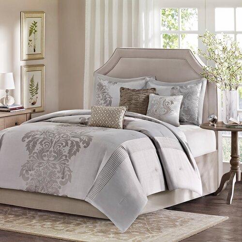 Madison Park Novak 7 Piece Comforter Set Reviews Wayfair