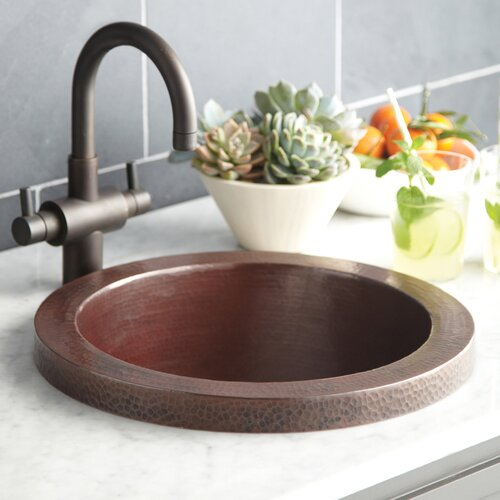 "Native Trails, Inc. 16"" x 16"" Mojito Bar Sink"