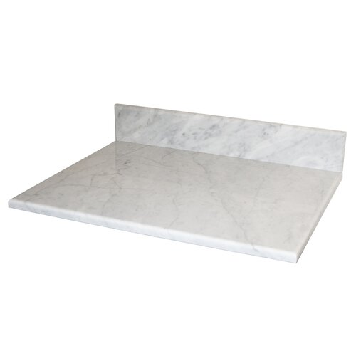 "Native Trails, Inc. Carrara 24"" Vanity Top"