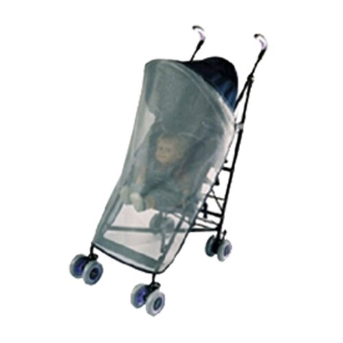 Sasha's Kiddie Products Maclaren and Chicco Wrap Around Single Stroller Sun, Wind and Insect Cover