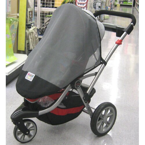 Sasha's Kiddie Products Kolcraft Contours 3 Wheeler Single Stroller Sun, Wind and Insect Cover