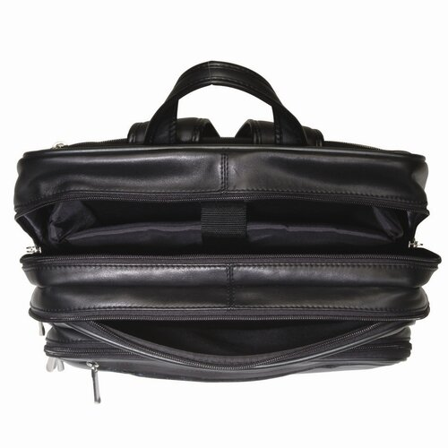 """Royce Leather Royce Leather 15"""" Laptop Backpack in Genuine Leather"""