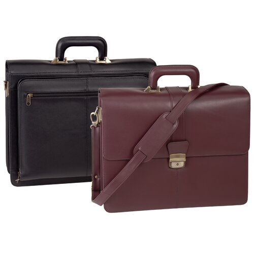 Royce Leather Exeuctive Legal Genuine Leather Briefcase