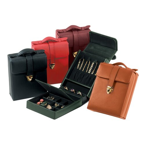 Royce Leather Ladies Pocketbook Travel Case
