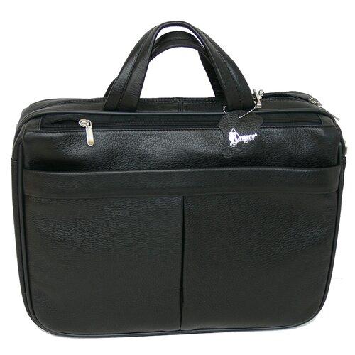 Royce Leather Genuine Leather Laptop Shoulder Bag Briefcase