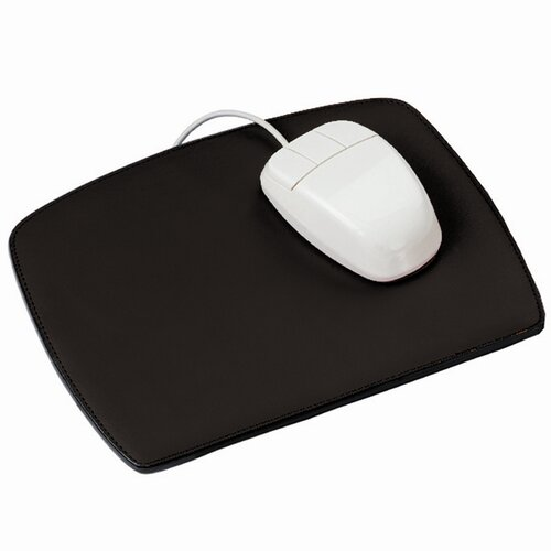 Royce Leather Mouse Pad in Black