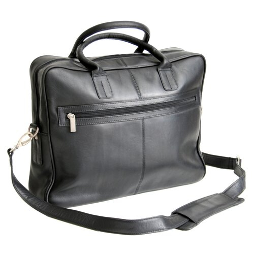 Vaquetta Nappa Leather Laptop Briefcase