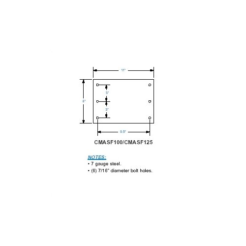 Lucasey Ribbed Ceiling Flange