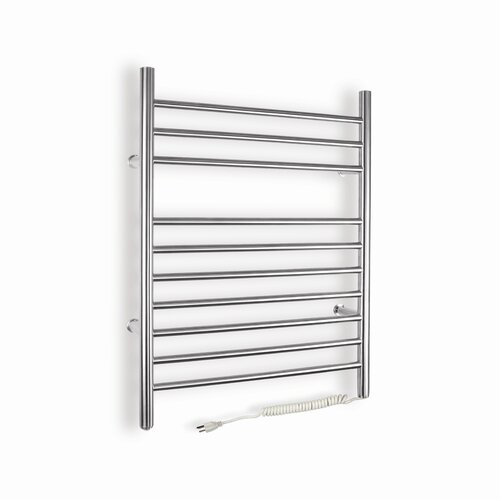 WarmlyYours Infinity Wall Mount Electric Towel Warmer