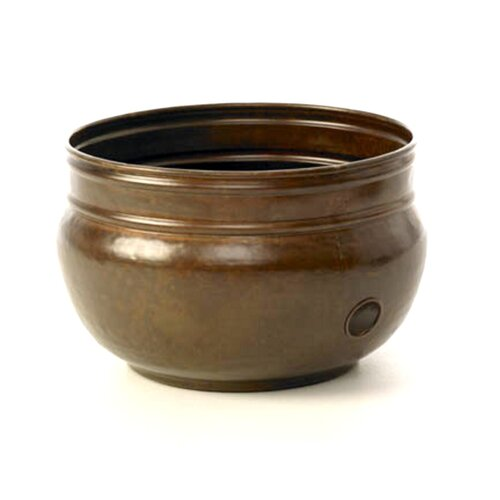 Liberty Garden Steel Rustic Hose Pot